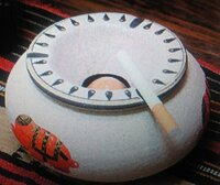 昔ダイソー(100円ショップ)に売ってあった、灰皿を探しています。 受皿は結構大きめで、ふた付きでしたが、完全なふたではなくタバコを吸っている時はそのまま吸えて、吸い終わったら、 受皿に落とすしくみにな...