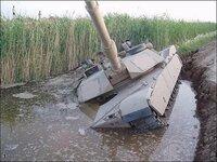 戦車って防水ですよね?この後はどうしたんでしょうか?