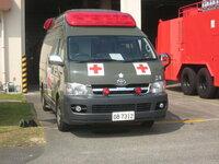 陸上自衛隊の救急車と消防の救急車とでは内部機器、救急道具等は変わりないですか? 陸上自衛隊の救急車の写真貼っておきます。