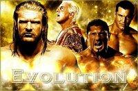 WWE エボリューション ・トリプルH ・リック・フレアー ・バティスタ ・ランディ・オートン 誰が一番好きですか?