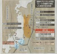 千葉沖、相模トラフ、駿河トラフに力が溜まっている確率は? 地震学に詳しい人教えてください。 まず、解釈があっているか? 今回NZとリンクして、太平洋プレートが動いている、それで東北の下の北アメリカプレ...