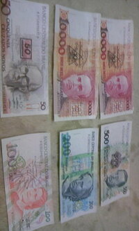 日本円でおいくらになりますか??ブラジルのお金??