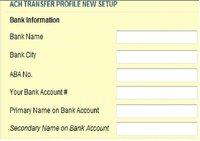 銀行口座情報のPrimary Name と Secondary Name とは? アメリカの証券会社に口座を作ってACH TRANSFERの設定をしようと思うのですが、画面に''Primary Name on Bank A ccount'' と ''Secondary Name on Bank Ac...