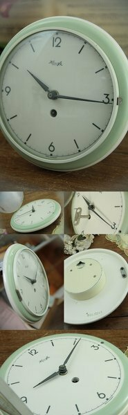 KIENZLE社のアンティーク?ビンテージゼンマイ掛け壁掛け時計が壊れました。 電池式にすることは可能ですか? オークションで一目ぼれしてしまったキンツレーのゼンマイ壁掛け時計を購入したところゼンマイの掛...