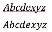 MicroSoftのWordについて質問です。 私は現在理系の大学生で、wordを使ってレポートを書いているのですが、理系のレポートは文章内にアルファベットが混じることが多いです。 そこで質問なのですが、数式ツール...
