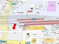 静岡県JR沼津駅南口から北口への最短徒歩ルート 交番前を通って、地下道を抜けて北口方面に抜けられますか?それとも徒歩でもイーラdeをぐるっと回っていかなければいけないでしょうか?