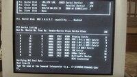 NECのバリューワンというデスクトップが起動するとNECのロゴのあと写真のようになってしまいますBIOSのセットアップはF2ボタンでやることができます OSはXPです 初期化でよいので直す方法はありますか?