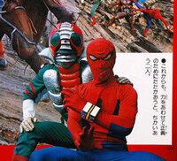 スパイダーマンと仮面ライダー1号 だったらどっちが勝ちますかね…