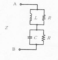 合成インピーダンスの求め方がわかりません。 以下のAB間のインピーダンスZを求める問題です。L=R^2Cという関係があるそうですが、合成インピーダンスを求めると Z=(LR/(L+R))+(RC/(C+R)) となりここからL=R^2Cより、代入して、(R^3C+2R^2C^2+CR^2)/(R+C+R^2C+RC^2)となる。ここまでは合っているでしょうか? できれば、これを求めることで...