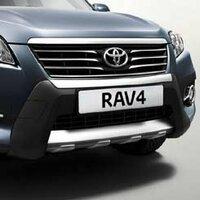 トヨタ自動車の海外のトヨタヨーロッパで販売しているRAV4のフロントバンパーをどうしても手に入れたいのですが可能でしょうか?ヨーロッパ限定?らしくどうすればいいのかわかりません。よろしくお願いします。