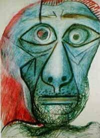 ピカソの90才の「自画像」についてどう思いますか?  皆さんの考えが聞きたいです。