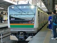 E233-3000が高崎線の中で、通常運行時に一番速度を出す区間はどこですか?