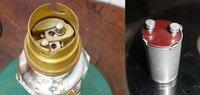 レトロな電気スタンドの電球ですが、丁度蛍光灯のグロー球に合うソケットです。この電球は市販されていますか。また電球の名前とソケットの名前をお教え願います。