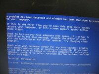 ブルー画面の対処方法をお願いします。 東芝のダイナブックを使ってます。XPです。  今日、アップデートして再起動したら、そのままブルー画面になりました。 再起動もできなので強制終了しましたが、 再度立...