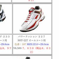 大1硬式テニス初心者、シューズ選び  初心者は安いシューズから始めるのがいいと聞きましたが、自分の足のサイズが29.0と大きく、安いやつで29.0まであるのがなかなか見つかりません。  そこで、安めで 見つけたのがこのヨネックスのパワークッション227というやつなのですが、初心者で高めの靴ってやめた方がいいのですか?  主にハードコートでやっています、 今までやってきたスポーツは卓球です。