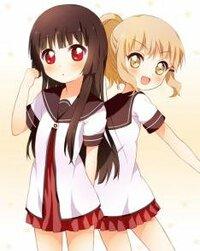 どちらの女の子がお好きですか?(≧∇≦)  ちなみに右はゆるゆりの大室櫻子 左は同じくゆるゆりの松本りせ  です(^_^)v