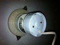 この天井照明の配線器具の種類を教えてください。よろしくお願いします。
