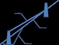 土留擁壁の盛土タイプ、地山タイプの使い分けについて 治山の土留工設計をする場合の盛土タイプと地山接近タイプの使い分けについて、添付図のような場合、どちらを適用して安定計算すべきなのでしょうか?