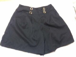 私服,お知恵,キュロット,ジーンズ,みんなミニスカート,ロゴTシャツ,トップス