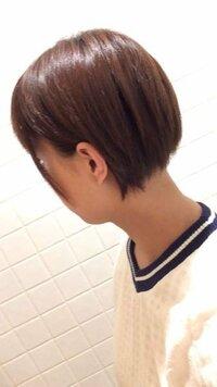 この髪型ってありでしょうか?(• _• ) 襟足をかなり切りすぎてしまいバリカンで剃られました...