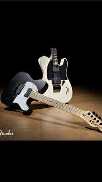 この画像のフェンダーギターのスペックと特徴を教えてください
