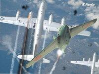 大日本帝国が、大東亜戦争・太平洋戦争中期に、ロケット戦闘機・秋水を、3000機ぐらい配備出来ていれば、アメリカのBー29長距離爆撃機などをことごとく撃墜し、 日本本土の制空権は死守出来ていたでしょうか。