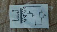 図の回路の入力インピーダンスの求め方を教えて下さい。