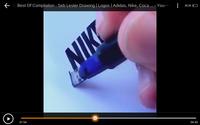 ペン先が四角いマーカーを探しています。 この動画に出てくるマーカー?を探しているのですがどなたかご存知ないですか? もしくはこのようなペン先のマーカーをご存じの方、教えていただきたいですm(_ _)m