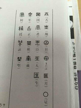 則天文字で現在も日本で使われてる文字はどれですか? - 圀くらいです ...