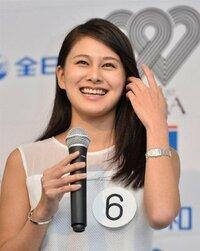維新の党の松野頼久氏の次女 松野未佳さんがミス日本コンテストのグランプリに輝きましたがみなさんはどう思いますか?  可愛いですか?