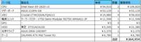 自作PCの構成相談。  こんにちは、新しいPCの自作を考えており以下の用途を想定しています。 用途:Esxiサーバー(開発・検証機) 構成: CPU:Intel Xeon E5-2620 v3(2個) マザボ:ASUS Z10PA-D8 メモリ:Crucial CT4K32G4LFQ4213(4個) PSU:クーラーマスター V750 Semi-Modular RS750-AM...