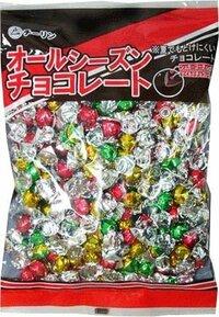 次のチョコレートはどこに売られていますか? オールシーズンチョコレートっていうんですけど、近くのスーパーにはなくて。 どこかで売ってるのを見たことがある方、どこで売っていたのか教えてくださいm(__)m