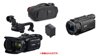 ビデオカメラ CANON(キヤノン) XA30 SONY(ソニー) FDR-AX55 1920×1080/60p(「MP4 1920×1080:35Mbps」 と 「XAVC S HD:1920x1080/60p XAVC S HD 約50Mbps」)で比較した場合、記録方式、性能、製造国、手振れ...