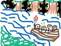 どうしても思い出せないアニメ ポケモンの話があり質問させていただきます。 もう何年も前のことなのではっきり覚えていないのですが、その回では辺りが暗い夜の中、川のようなところをボートに乗っていました。 ...