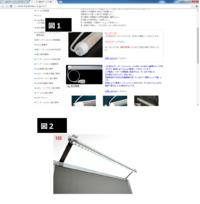 【コンセント式 蛍光灯(または横長のLED) を探しています】  添付写真のように、家庭用コンセントから電源供給ができる蛍光灯を探しています。 (普通の蛍光灯でも LEDでも どちらでも可)  蛍光灯から...