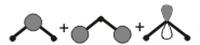 物性化学(物理化学・量子化学)の質問です。  H2Oの分子軌道についてです。使用している教科書ではH2の分子軌道とOの原子軌道の重ね合わせでH2Oの分子軌道を構築するやり方が書かれていました。 このうち、{O 2s , O 2pz , H2の結合性軌道φ}の3軌道の混じり合いでできる軌道について、  φの符号に対して 1:O 2s , O 2pz 共に同符号 2:共に逆符号 3...