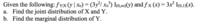 条件付き同時確率分布の問題 a)は二つの与えられた式から同時確率関数を求める問題 b)はf_y(y)を求める問題です。  例題がなく手順がイマイチわからなくてこまっています。 ご指導いただけますでしょうか。