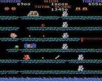 【懐かしのアーケード・ゲーム~Re:その92~】  憶えてますでしょうか? 懐かしのアーケード・ゲーム第92弾は、 1984年の強制横スクロール・シューティング・ゲーム  「西遊記」の日本版絵本に着想を得た作品で、プレイヤー1が(サル)、プレイヤー2が(ブタ)を操作して協力プレイできるのが特徴。主人公は孫悟空の孫という設定だが、他のキャラクターについては不明。フィールドが全て6段に...