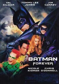 映画「バットマン フォーエヴァー」についてです。 ①トゥーフェイスは何故バットマンを恨んでいるのですか?恨むなら塩酸かけたマフィアのボスだと思うのですが…。 ②ジョン・ファヴローさんがカメオ出演されているらしいですが、どのシーンですか? ③ゴッサム・シティはニューヨークにある都市なのでしょうか?自由の女神が登場してましたよね。