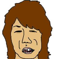 自画像描きました。上手いですか?