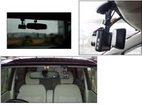 ドライブレコーダーの取り付け位置について教えて下さい。  先日、Amazonで4000円のドライブレコーダーを購入しました。 愛車であるeKワゴンのフロントガラスにそれを取り付けてみたのですが、後々になって取り...