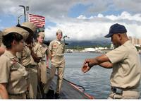 米国海軍潜水艦の Officer of the deck: OOD と Cief of the Boat: COB に相当する、海上自衛隊の正式名称を教えてください。 また、護衛艦などの水上艦では、どのような名称に相当するのでしょうか?