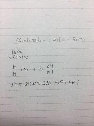 バリウム 水 酸化