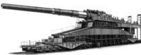 ガールズ&パンツァー カール自走臼砲が戦車として認められるならこのドーラ砲も認められますか?