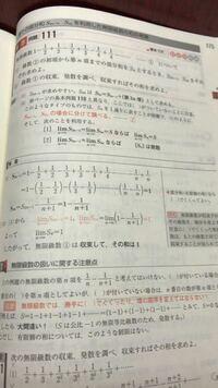 一通りに表すのが困難な無限等比級数の和で、部分和S 2n-1,S2nとは初項から第2n-1、2n項という意味ですか?あと、なぜ2n-1と2nを使うのか教えてください