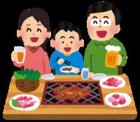 NHK「天才てれびくん」で放送された、  「家族で焼き肉 ゴーゴーゴー」という歌がありました。  その曲の歌詞を、教えてください。  分かる方は、お願いします。