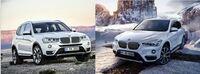 BMW X3かX1の購入を検討しています。 (値引の大きさでX3優勢) 両方試乗済でどちらも一長一短ですが、気になるのがエクステリアです。 自分の感覚では圧倒的にX1のほうがかっこよく見えます。 これはボディと...