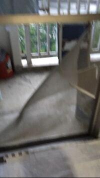 犬の転落死について 先日飼っていた犬(トイプードル3歳) 10階のベランダから転落死してしまいました。 その高さからの転落ってありえるのでしょうか?  当時家には誰もおらず ベランダは空いてました。(網戸をしている状態)  飛び越える事は考え難いです。(高さ1m50くらい)  柵の間をすり抜けるにも体が少し デカくすり抜けられないと思います。 網戸が破られていたので 勢いよく突き破ったのはわ...