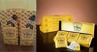 TWGの紅茶、ティーバッグと茶葉どっちが嬉しい? ーーーー シンガポールに行きます。 お土産にTWGの紅茶を買ってこようと思うのですが、50gから量り売りの茶葉とティーバッグはどちらがもらって嬉しいでしょうか。 紅茶好きの人の場合普通に考えれば茶葉でしょうが、TWGのティーバッグはご存知の方も多いと思いますがバッグが紙ではなくコットン100%で出来ており(しかもハンドメイド)とても高級...