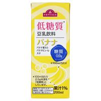 イオンのトップバリューの低糖質バナナ豆乳って1Lサイズのものは販売されていないのでしょうか? いつも行くイオンには200mlの小さいやつしかありません
